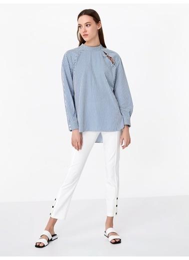 Twist Bluz Mavi